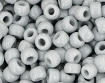 TOHO Size 8 Seeds - 10gms - Opaque Grey 8/53