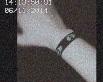 Aliens Green Heads UFO inspired Friendship Bracelet