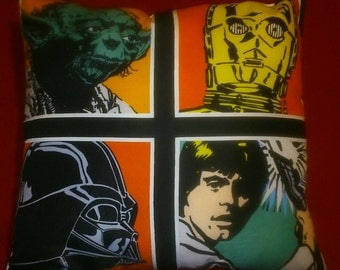 Handmade Star Wars cushion
