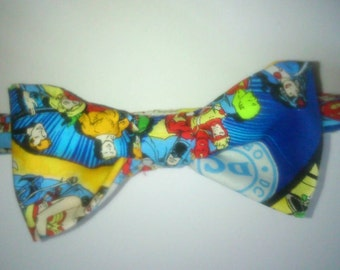 Boys dc superheros bow Tie