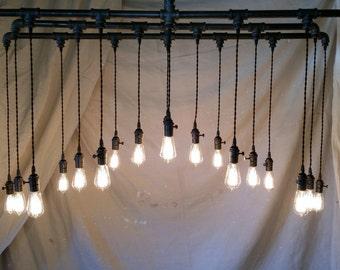 20 Light Industrial Chandelier