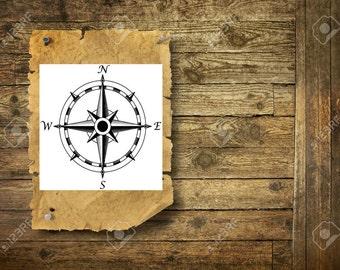 Compass - Temporary Tattoo