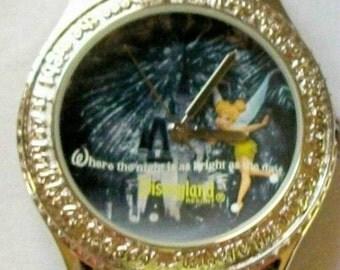 Disney Rhinestone Tinkerbell Watch!