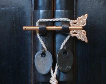ButterflyAsian Furniture Hardware Locking Door Pin
