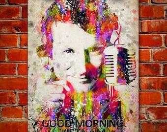 Robin Williams In Color Poster, Home Decor, Gift Idea