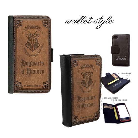 Hogwarts a History Harry Potter handbook Smartphone case for iphone 4 4s 5 5s 5c 6 plus Galaxy S3 S4 S5