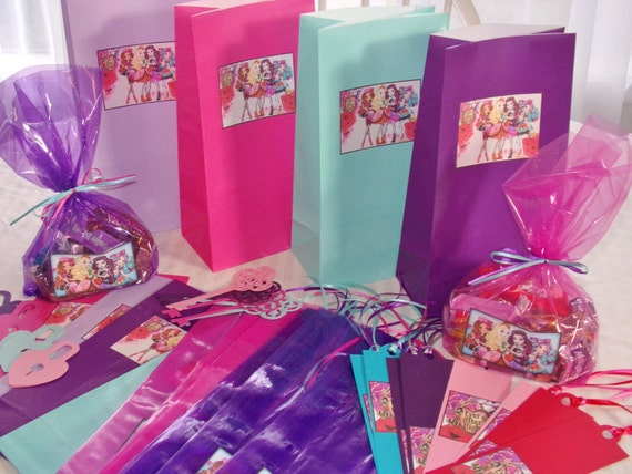 Ever After High Favor Bags
