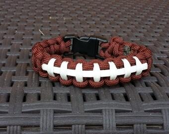 Football themed bracelet