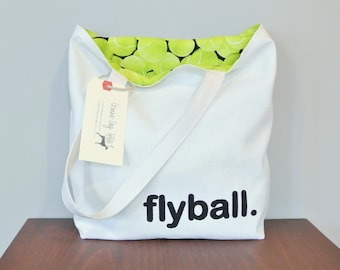 Flyball tote