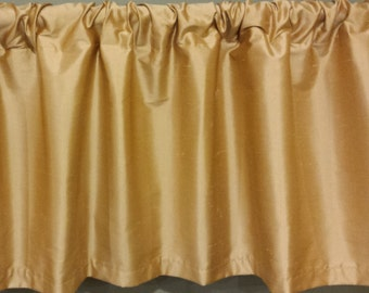 "Clearance Curtain Valance - One Lined Curtain Valance. 52"" x 16""  Window treatments"