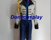 High Quality !!!Prince Hans cosplay costume Prince costume Halloween men cosplay outfit