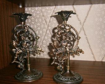 candlestick of USSR .Candlesticks Vintage
