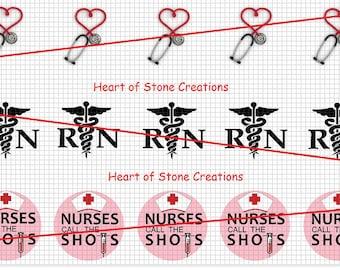 RN Occupation Bottle Cap Image Sheet