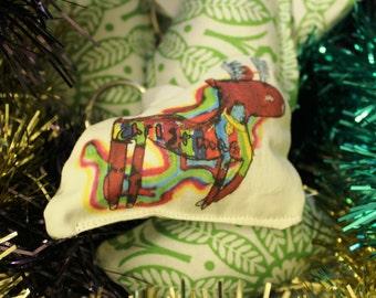 "Rainbow Pet ""Reindeer"" Christmas keyring"