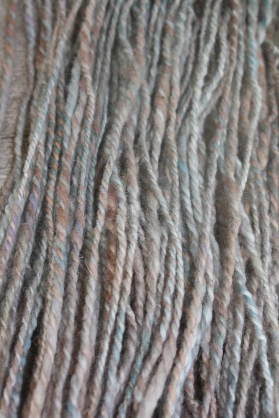 Knitting Handspun Wool : Woolen knitting yarn handspun from wildhareyarn on