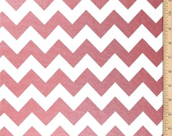 Riley Blake Sparkle Chevron Red (Half metre)