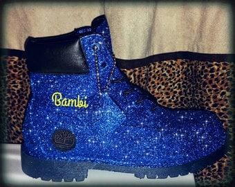 Glitter Galaxy Timberland Boots