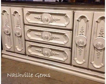SOLD: Shabby Chic Buffet/Sideboard