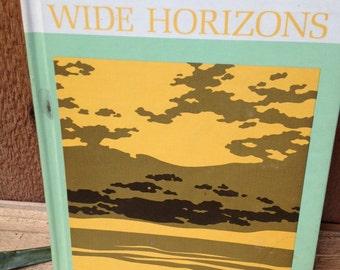 Vintage Reader, Wide Horizons, Book 3, 1965 Scott, Foresman.