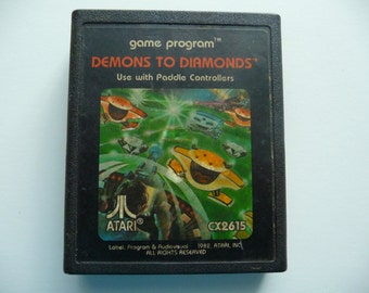 Vintage Demons To Diamonds For Atari 2600