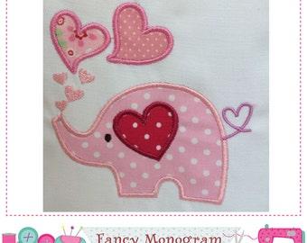Elephant Valentine | Etsy