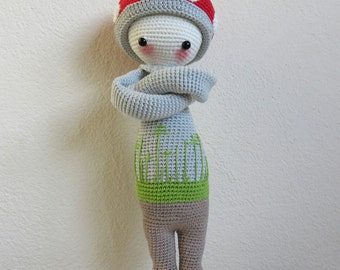 Paul the crocheted toadstool.