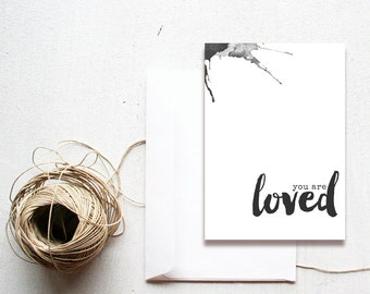 You Are Loved  5x7 printable