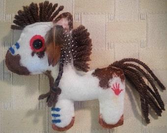 BubbleLu™ Indian War Pony Plushie