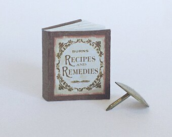 Miniature Recipes and Remedies Book