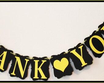 Black & Yellow Theme Banner