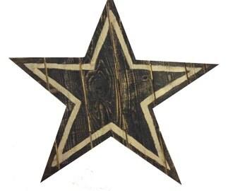 Reclaimed Wood Dallas Cowboys Logo