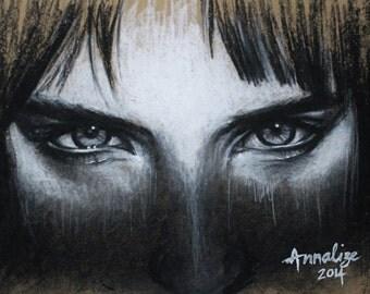 Portrait using Charcoal