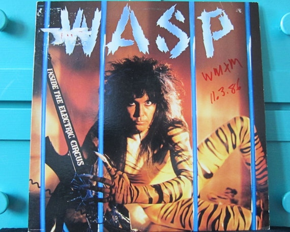W.A.S.P. - Inside the Electric Circus Vinyl Record