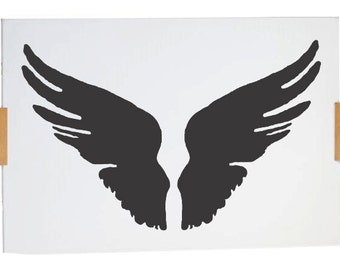 Stencil wings A4 size