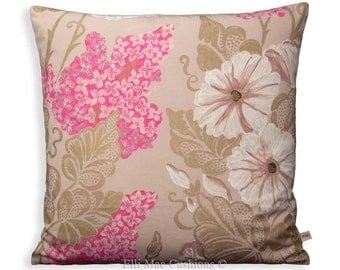 "Designers Guild ""Irise"" Orchid 18"" x 18"" Sofa Cushion Pillow Cover"