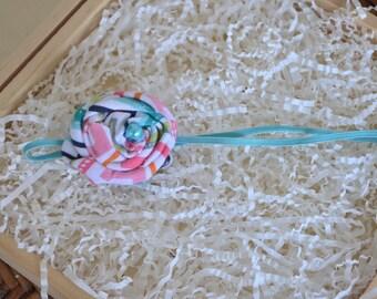 Fabric Rosette Headband