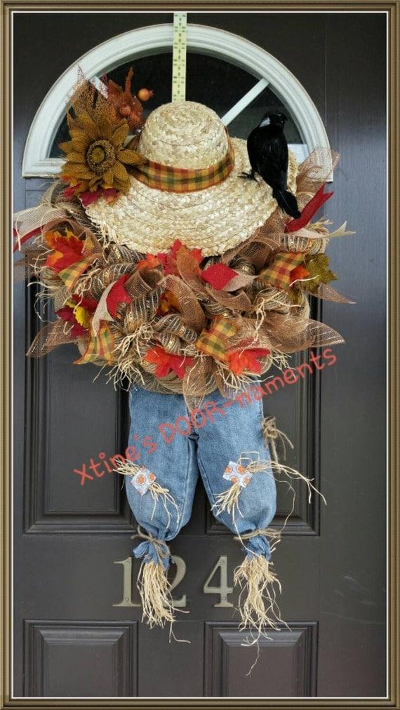 Thanksgiving Scarecrow Wreaths Page Three  Thanksgiving Wikii