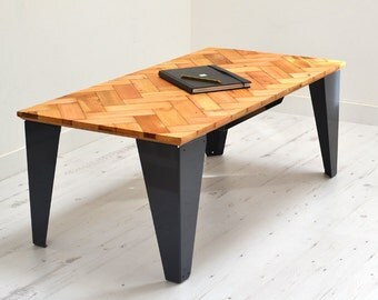 Reclaimed Parquet Coffee Table
