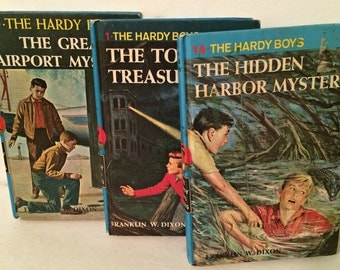 Set of 3 Hardy Boys Books