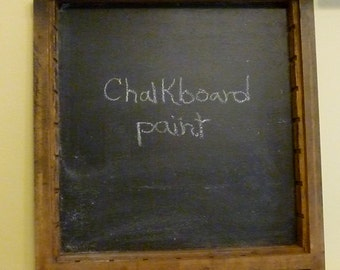 Repurposed Printer's drawer chalkboard
