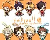 Haikyuu!! charms (SALE!!)