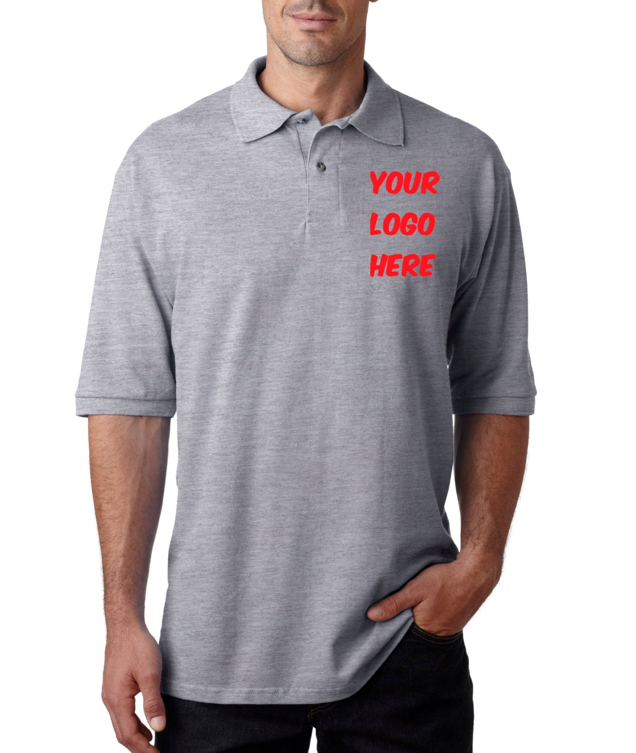 Custom men polo shirts with embroidery personalized or for Custom polo shirts embroidered