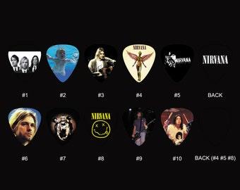 Nirvana Guitar Pick Set (10pcs)