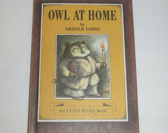 Owl at Home by Arnold Lobel - Childrens books - vintage books