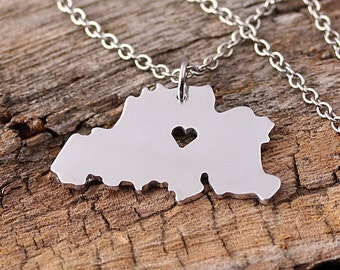 I heart Belgium Necklace - Belgium Pendant - Belgium Map Charm - Belgium Map necklace - Map Jewelry