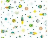 Atomic Bots Fabric by Wilmington Prints, fat quarter, Quilting Fabric online Australia