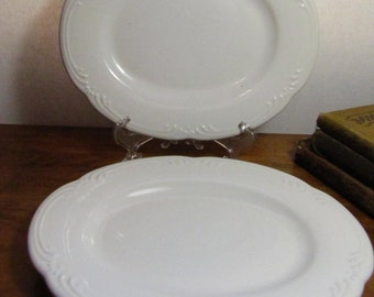 Two (2) Vintage Pfaltzgraff Small  Platters