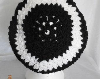 Handmade Crocheted Slouch Hat
