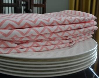 Monogrammed cotton napkins