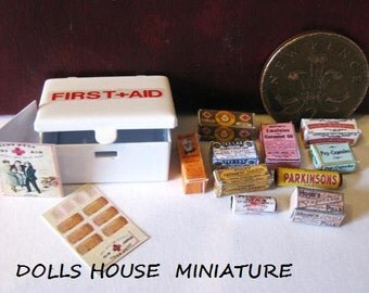 Vintage style first aid tin